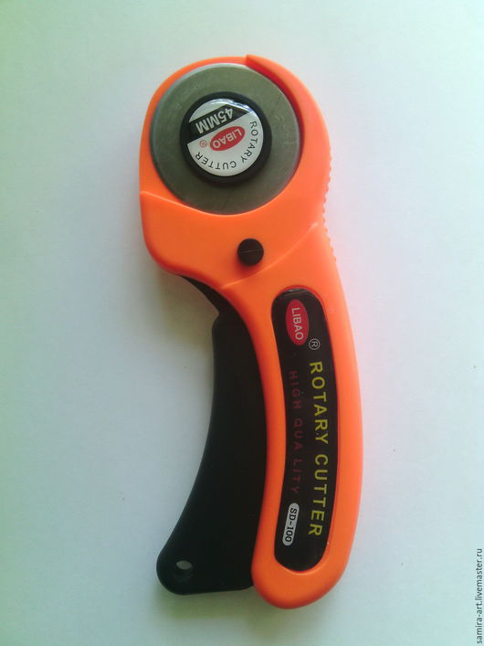 Другие виды рукоделия ручной работы. Ярмарка Мастеров - ручная работа. Купить Дисковый нож (роторный, роликовый, раскройный). Handmade.