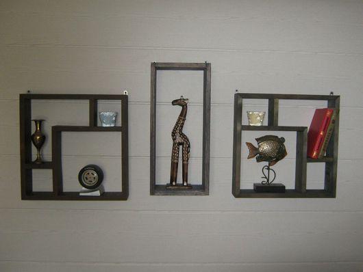 Мебель ручной работы. Ярмарка Мастеров - ручная работа. Купить Полка интерьерная. Handmade. Интерьер, гостинная