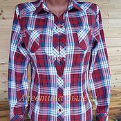 Одежда ручной работы. Ярмарка Мастеров - ручная работа Женская рубашка. Handmade.