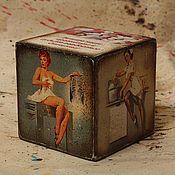 Подарки к праздникам handmade. Livemaster - original item Cube-card for the health worker. Handmade.