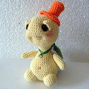 Куклы и игрушки ручной работы. Ярмарка Мастеров - ручная работа черепашка вязаная. Handmade.