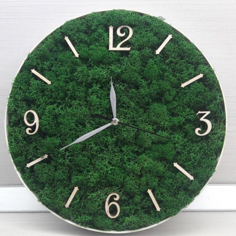 Часы из мха, Часы, Белгород, Фото №1