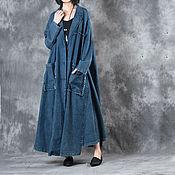Одежда handmade. Livemaster - original item Large yards long cowboy coats. Handmade.