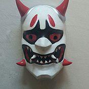 Одежда handmade. Livemaster - original item La máscara de Gendzi (patrón de genji) de juego Overwatch. Handmade.