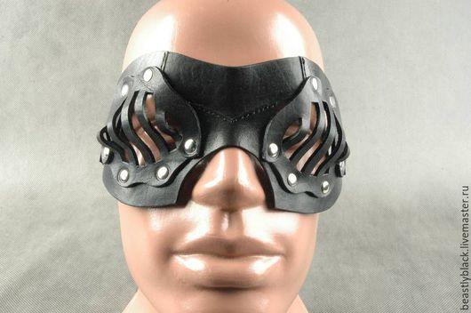 Готика ручной работы. Ярмарка Мастеров - ручная работа. Купить Маска «Иллюзия заточения» на глаза. Handmade. Маскарадная маска