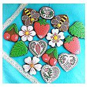 Сувениры и подарки handmade. Livemaster - original item Gingerbread holiday mood.Gingerbread Birthday. Handmade.