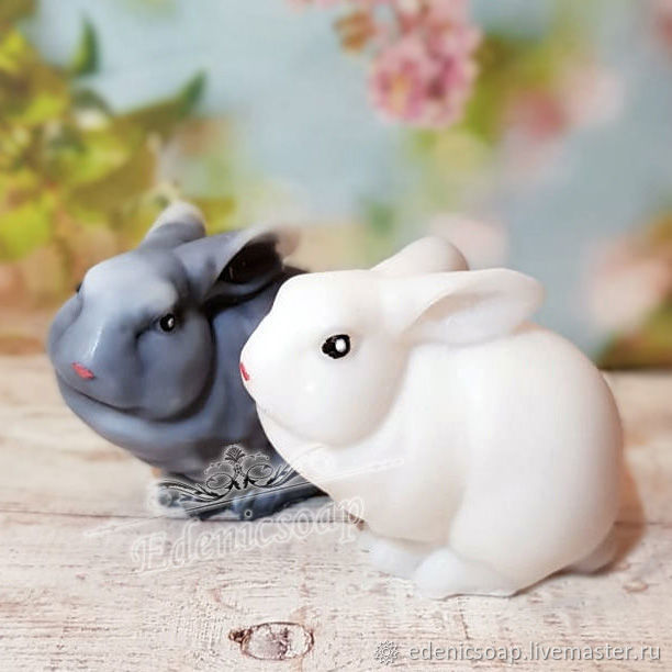'Rabbit ' handmade soap gift for children Easter, Soap, Moscow,  Фото №1
