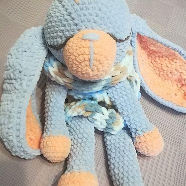 Куклы и игрушки ручной работы. Ярмарка Мастеров - ручная работа Зайка - сплюшка. Handmade.