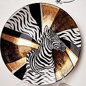 Для дома и интерьера handmade. Livemaster - original item Interior elements: Plate