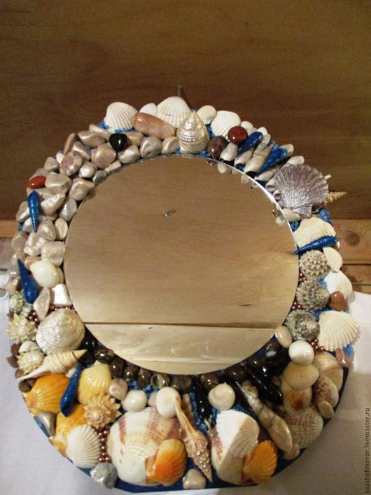 Зеркала ручной работы. Ярмарка Мастеров - ручная работа. Купить зеркало морская тема. Handmade. Зеркало, море, ручная работа