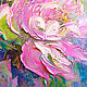 Order 'Waiting for June' - the author's oil painting with peonies. Multicolor Gallery. Livemaster. . Pictures Фото №3