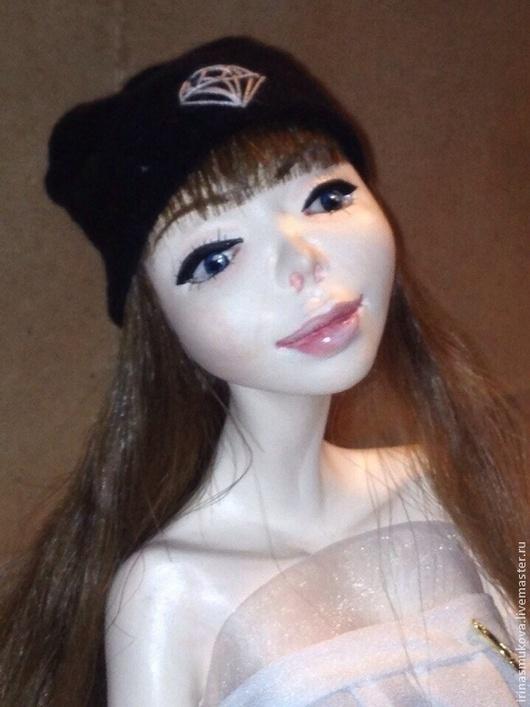 Коллекционные куклы ручной работы. Ярмарка Мастеров - ручная работа. Купить Кукла Лена. Handmade. Разноцветный, кукла на заказ, шерсть