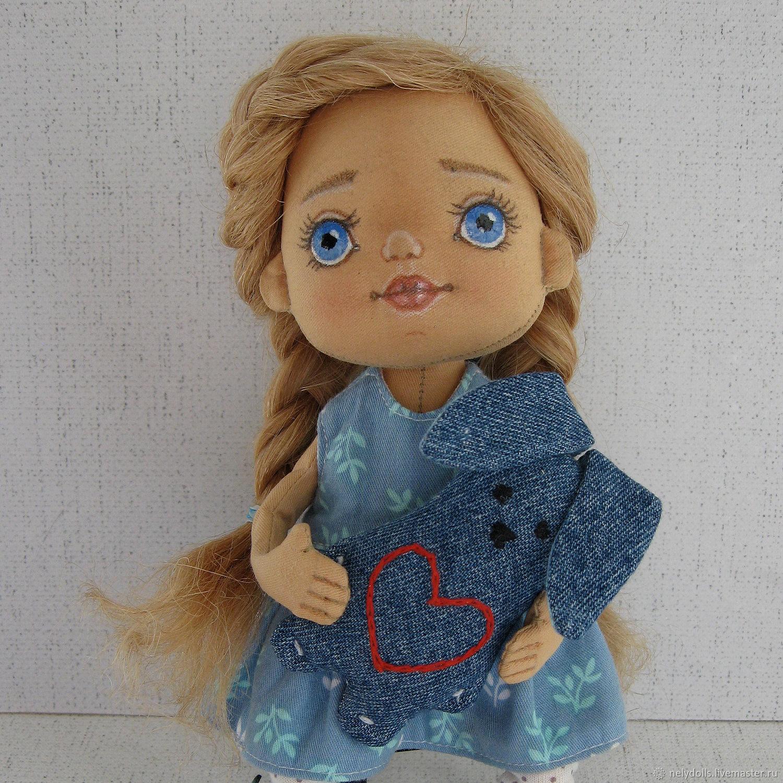 Кукла текстильная интерьерная, Куклы и пупсы, Чернушка,  Фото №1