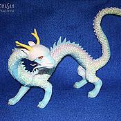 Куклы и игрушки ручной работы. Ярмарка Мастеров - ручная работа Небесный радужный дракон Тяньлун. Handmade.