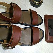 Босоножки ручной работы. Ярмарка Мастеров - ручная работа Босоножки мужские, сандалии. Handmade.