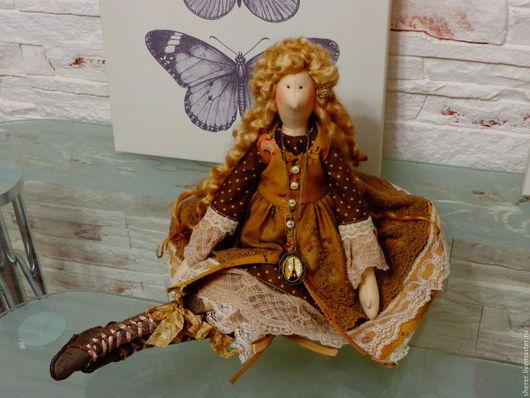 Куклы Тильды ручной работы. Ярмарка Мастеров - ручная работа. Купить Осень в Париже. Handmade. Ручная работа handmade