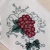 Посуда handmade. Livemaster - original item The vest on the bottle of vine. Festive table. Handmade.