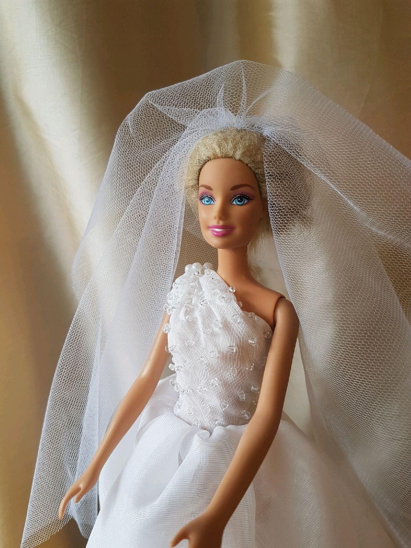 Свадебное платье для Барби - Своими руками интернет журнал 33