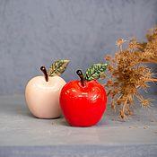 handmade. Livemaster - original item Small self-leveling apples figurine. Handmade.