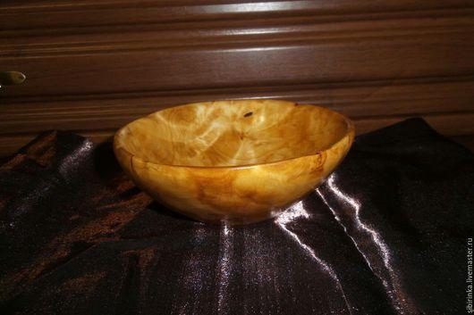 Пиалы ручной работы. Ярмарка Мастеров - ручная работа. Купить Деревянная посуда ( пиала из капа березы). Handmade. Золотой