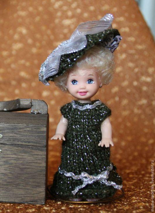 Одежда для кукол ручной работы. Ярмарка Мастеров - ручная работа. Купить Платья для кукол 10-12см. Handmade. Кукла в подарок