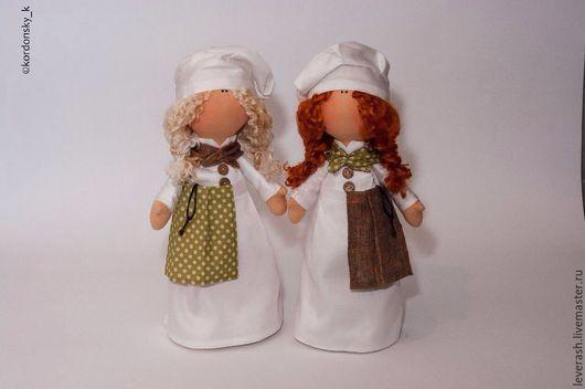 Коллекционные куклы ручной работы. Ярмарка Мастеров - ручная работа. Купить Куколки. Кукла. Повар. Поварята. Кукла для кухни. Handmade.