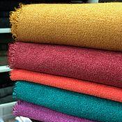Материалы для творчества handmade. Livemaster - original item Fabric Italian Boucle BISENTINO diluted. Handmade.
