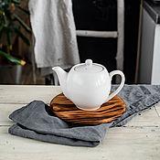 Для дома и интерьера handmade. Livemaster - original item Stand for hot food made of wood Siberian cedar 185 mm. P9. Handmade.