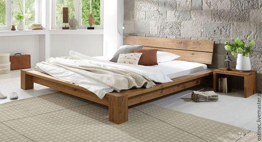 Мебель ручной работы. Ярмарка Мастеров - ручная работа. Купить Кровать Белава + столик в подарок. Handmade. Кровать