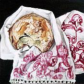 Картины и панно ручной работы. Ярмарка Мастеров - ручная работа Хлеб. Холст на подрамнике, масло.. Handmade.