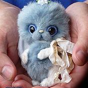 """Куклы и игрушки ручной работы. Ярмарка Мастеров - ручная работа Зайка тедди """"Незабудка"""". Handmade."""