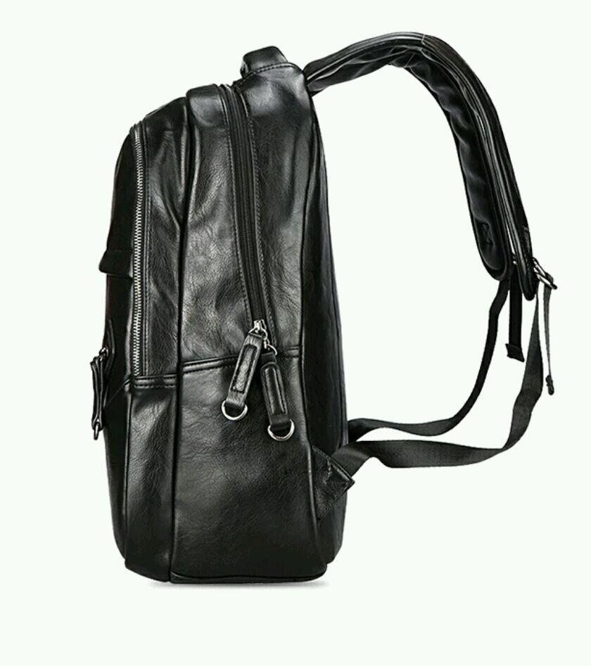 716f6649a79b Ярмарка Мастеров - ручная работа. Купить Мужской рюкзак экокожа черный  распродажа Рюкзаки ручной работы. Мужской рюкзак экокожа черный распродажа.