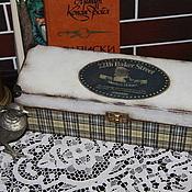 """Для дома и интерьера ручной работы. Ярмарка Мастеров - ручная работа Коробка для часов """"Baker Street"""". Handmade."""