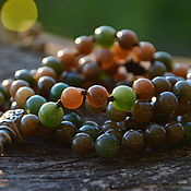 Фен-шуй и эзотерика handmade. Livemaster - original item A copy of the work of a jade Rosary, exclusive rosary. Handmade.