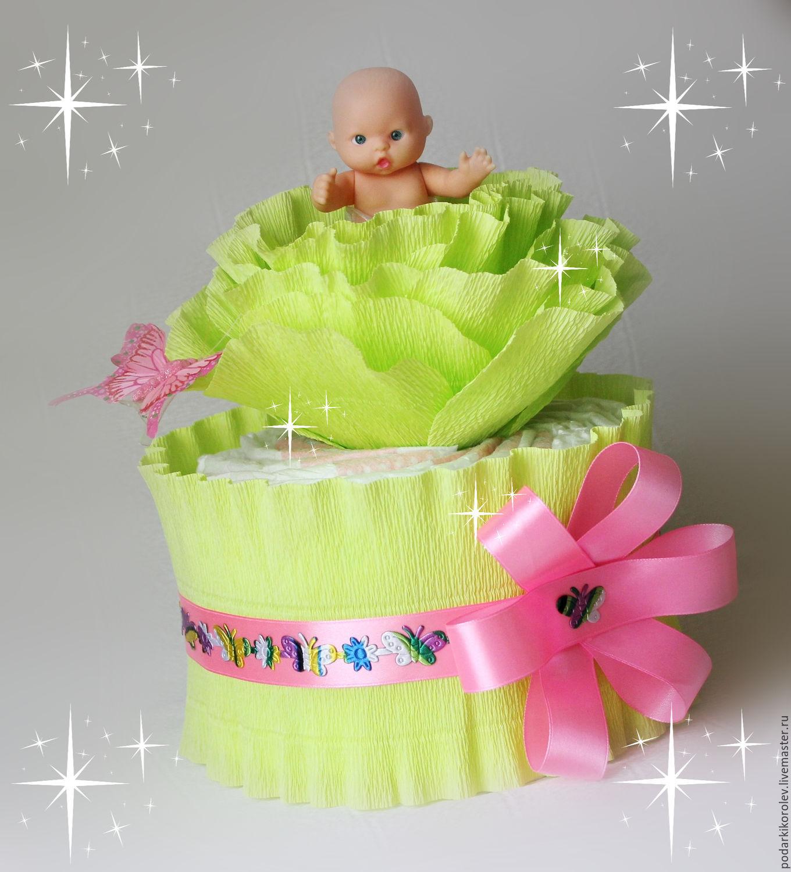 Подарок к рождению девочки своими руками