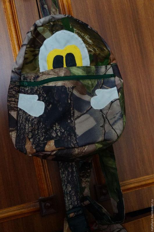 Рюкзаки ручной работы. Ярмарка Мастеров - ручная работа. Купить Рюкзачок детский. Handmade. Зеленый, рюкзак