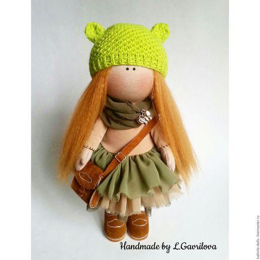 Коллекционные куклы ручной работы. Ярмарка Мастеров - ручная работа. Купить Интерьерная кукла ручной работы. Handmade. Комбинированный, рыжуля