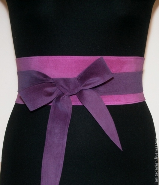 """Пояса, ремни ручной работы. Пояс-кушак """"Violet MIX 6"""". Lanita Design. Ярмарка Мастеров."""