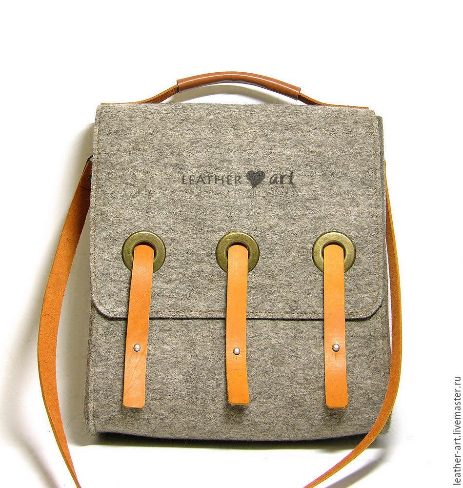 bcab8e633f Handbags handmade. Livemaster - handmade. Buy Bag felted Portfolio.