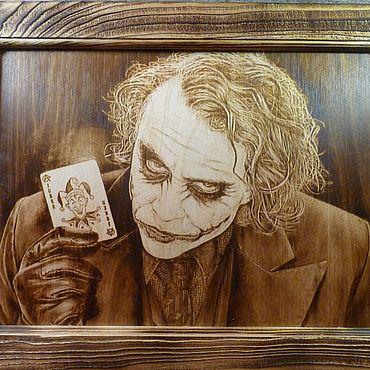 Картины и панно ручной работы. Ярмарка Мастеров - ручная работа Картины: Джокер. Handmade.
