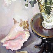 Картины и панно handmade. Livemaster - original item Flowers and shells. Handmade.