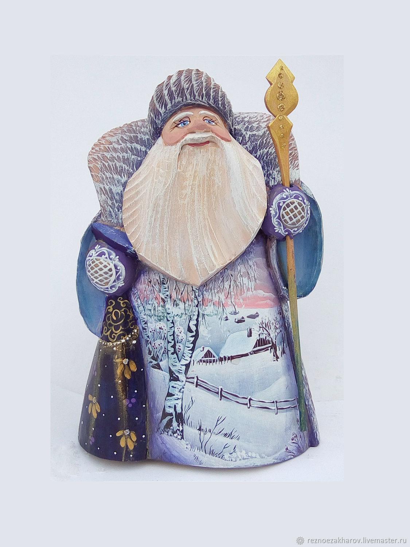 Дедушка Мороз(с березками, Дед Мороз и Снегурочка, Рошаль,  Фото №1