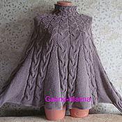 Одежда handmade. Livemaster - original item Poncho - atletica. Handmade.