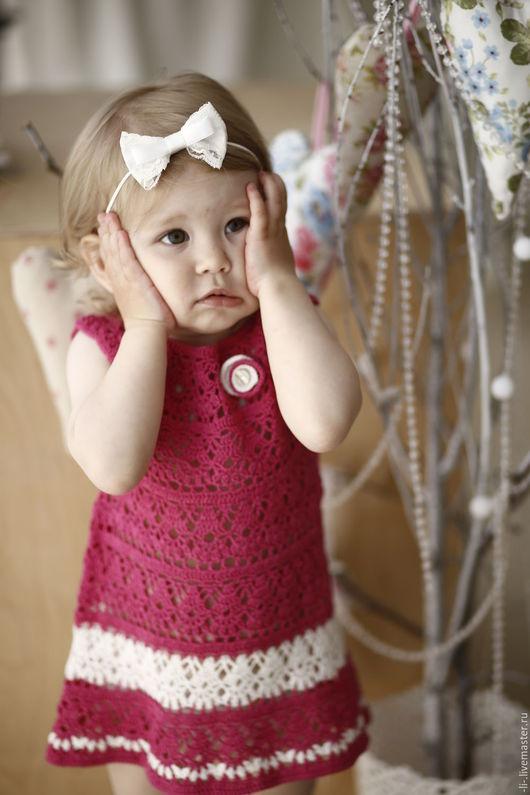 Рост очаровательной малышки-модели на фотографии - 92 см