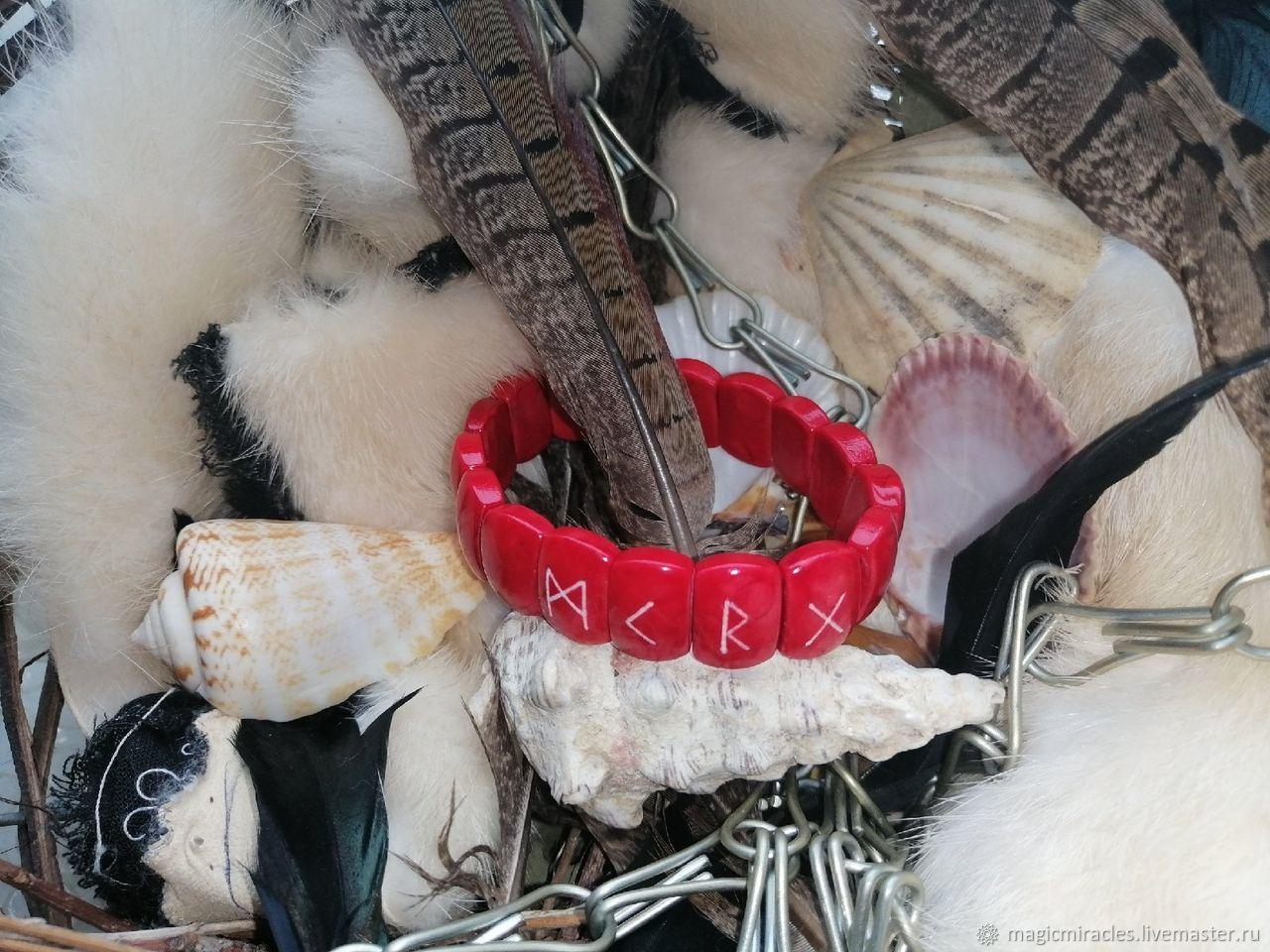 Рунический браслет «ЛЮБОВНИКИ», Оберег, Коломна,  Фото №1