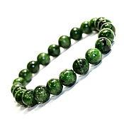 Украшения handmade. Livemaster - original item Bangle chrome diopside - Sakha emerald. Handmade.