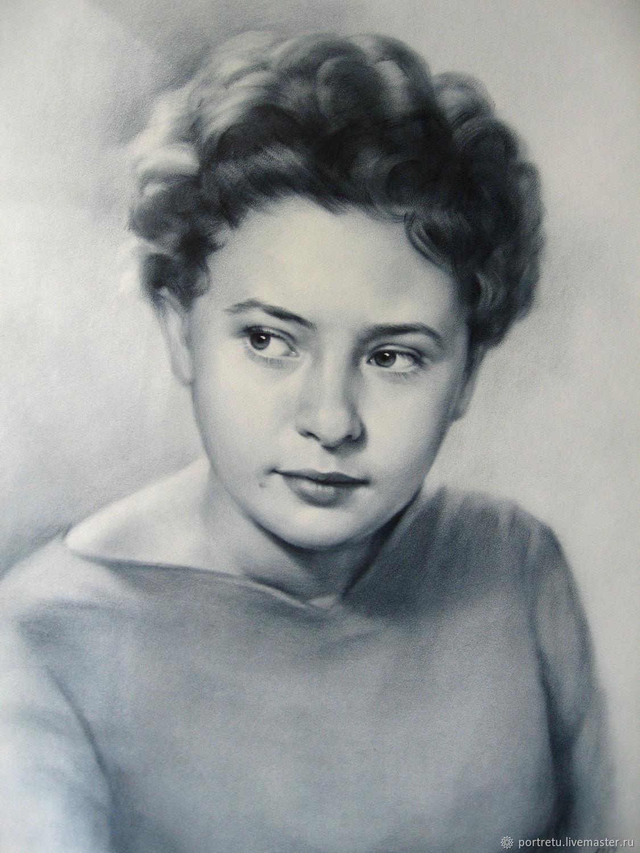 Портрет по старому фото, Картины, Москва,  Фото №1