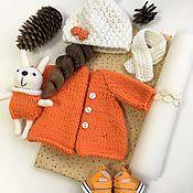 Материалы для творчества ручной работы. Ярмарка Мастеров - ручная работа Набор для создания кукольного наряда. Handmade.