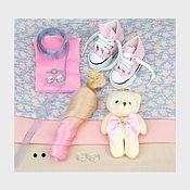 Материалы для творчества handmade. Livemaster - original item Materials for dolls and toys: Set of materials for sewing dolls 3518. Handmade.