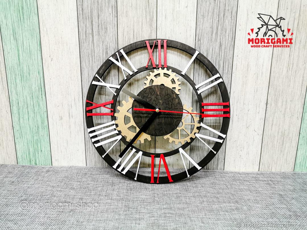 Часы в стиле ТЕХНО – заказать на Ярмарке Мастеров – LPECWRU | Часы классические, Кубинка